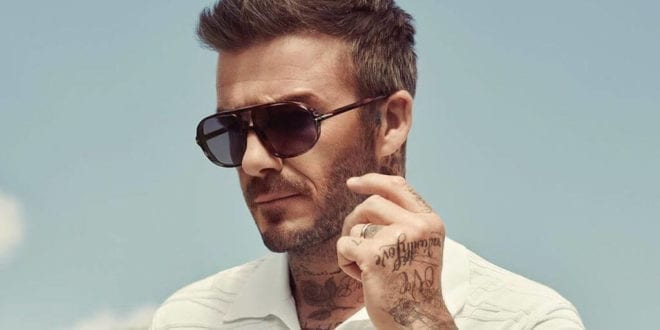 David Beckham finds ditching meat 'actually enjoyable'