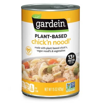 Gardein launches first ever plant-based meat alternative soup
