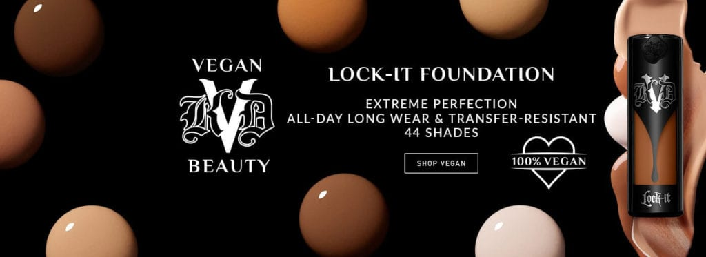 KVD vegan beauty just launched at all Ulta Beauty stores in the US
