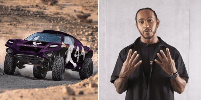 Lewis Hamilton to field team in new Extreme E racing series highlighting 'climate change and equality'
