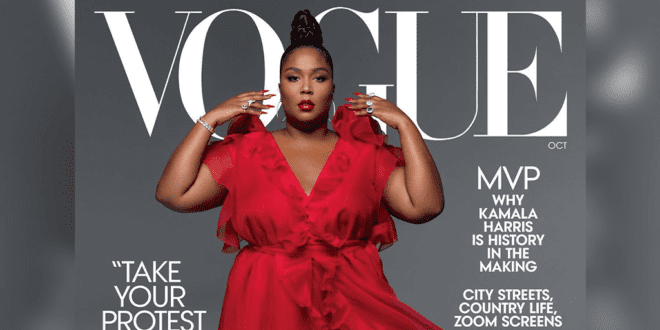 Lizzo is Vogue's first plus-sized black cover girl
