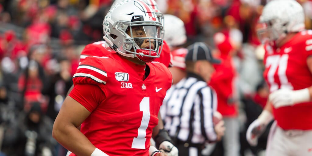 Ohio State quarterback Justin Fields goes vegan to become 'leaner, stronger and faster'