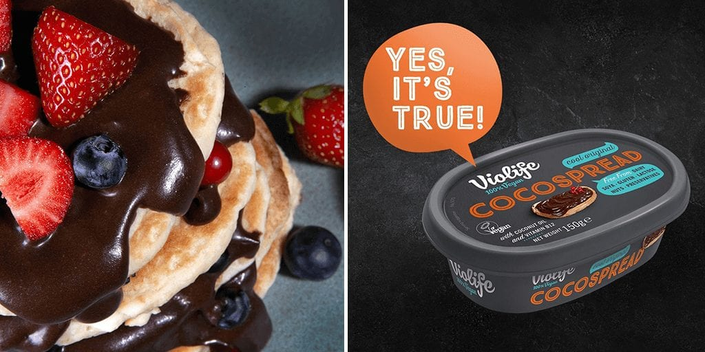 Violife just launched vegan chocolate spread in the UK