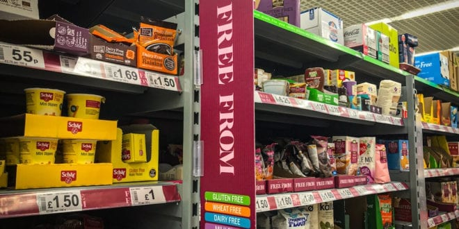 Asda lowers prices of free-from products range to match non-vegan rates