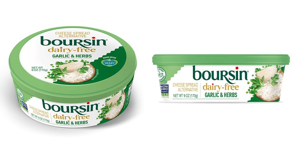 Cheese brand Boursin to launch its first vegan cheese spread this October