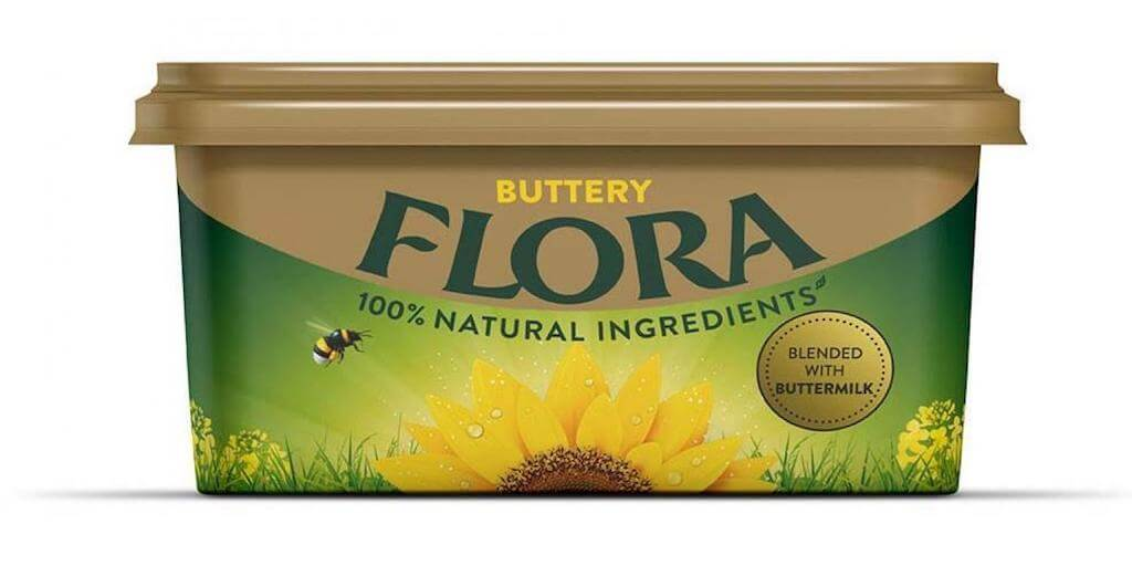 Flora puts dairy back into Flora Buttery recipe