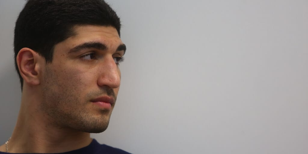 NBA star Enes Kanter says going plant-based is better for humans, animals, and the planet
