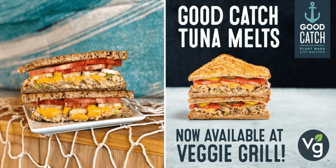Vegan tuna melts just launched at Veggie Grill outlets across the US
