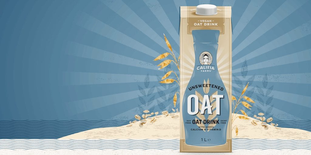 Califia Farms' new unsweetened oat drink just launched in Sainsbury's