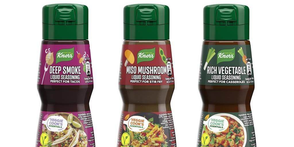 Knorr to launch first-ever vegan liquid seasoning range