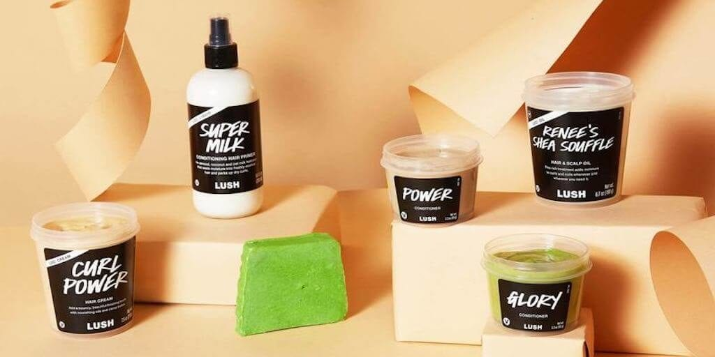 LUSH launched new vegan afro hair care range