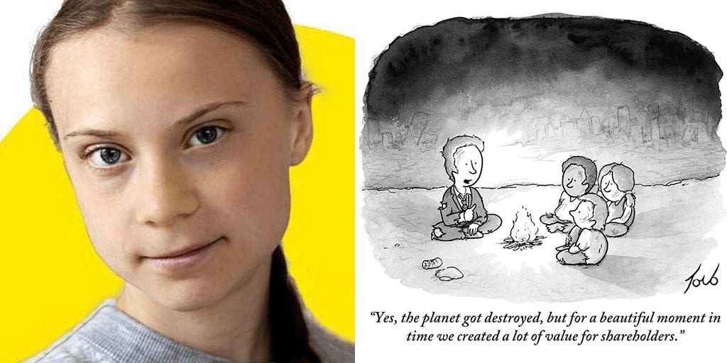 Greta Thunberg blasts world leaders saying 'their empty words' are destroying present and future living conditions