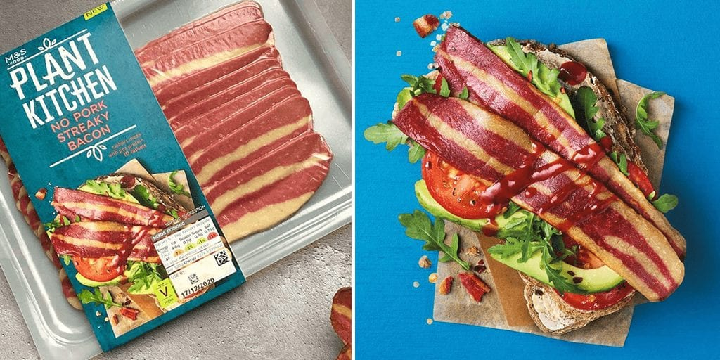 M&S just launched vegan 'bacon' in its Plant Kitchen range