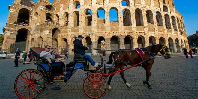Rome bans horse-drawn carriages from operating city streets