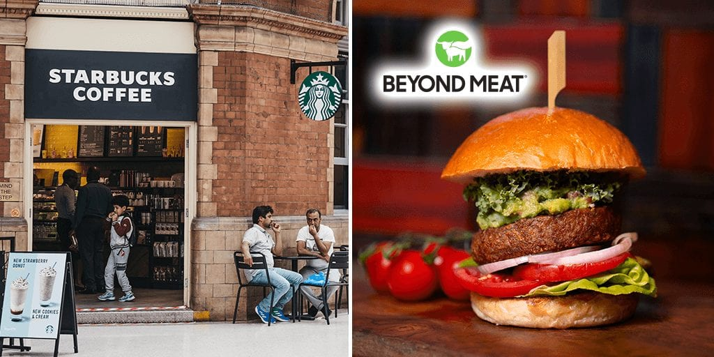Starbucks UK to launch Beyond Meat breakfast sandwich and more next month