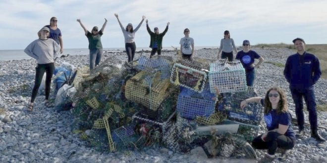 63 tonnes of 'ghost gear' removed from Atlantic Ocean in 2020