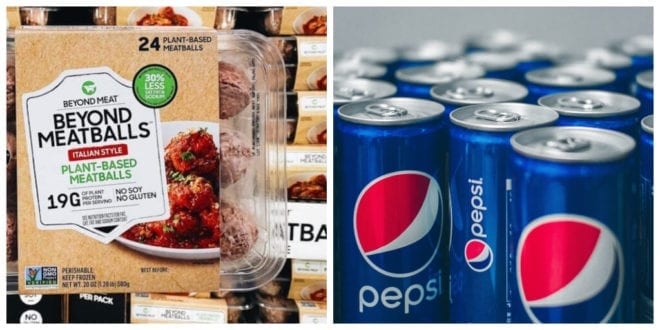 Beyond Meat and PepsiCo partner to create plant-based snacks and drinks