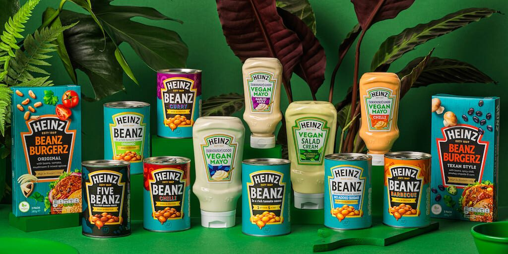 Heinz new vegan range includes burgers in addition to mayo and salad cream