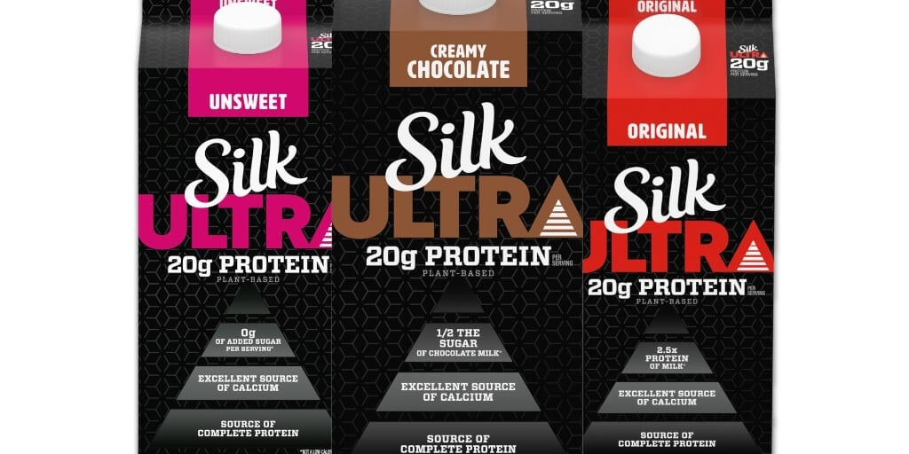 Major dairy-free brand Silk launches new plant-based protein drinks for athletes