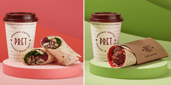 Pret adds nine new vegan items to January menu
