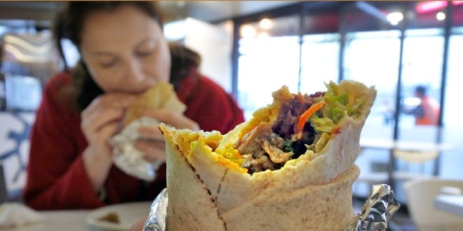 Veggie mum angry and 'left feeling sick' after McDonald's serves her chicken in meat-free wrap