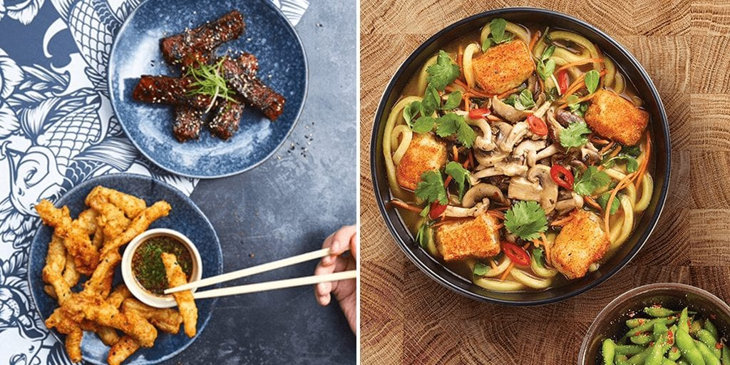 Wagamama launches new vegan-themed dishes - vows to make menu 50% meat free in this 'Year of Change'