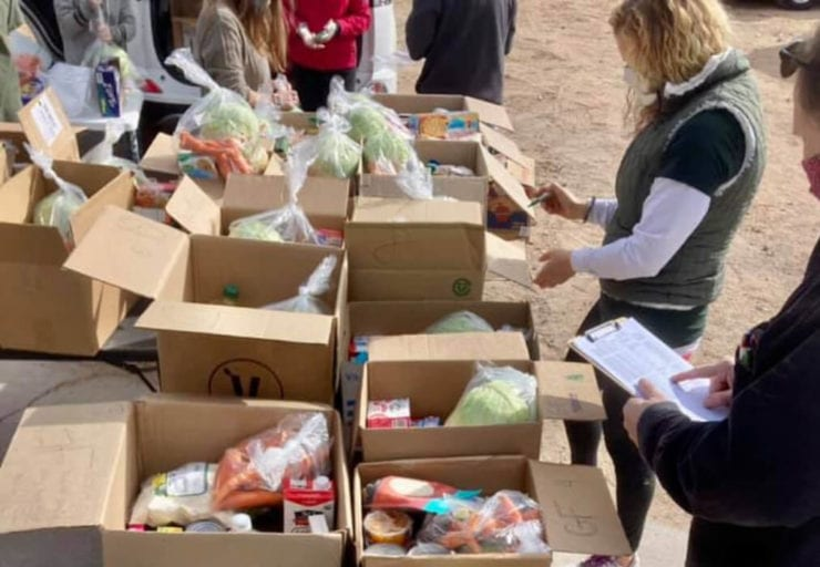 Vegan chef sets up foodbank to provide healthy and ethical food to the needy