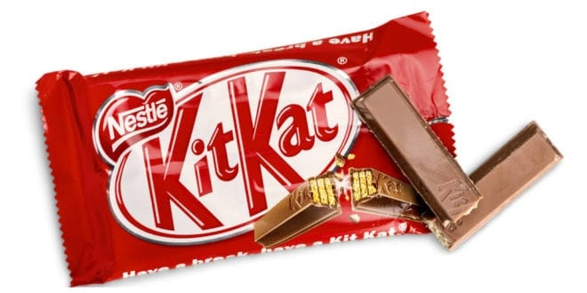 Nestlé's vegan KitKat chocolate bars coming to the UK