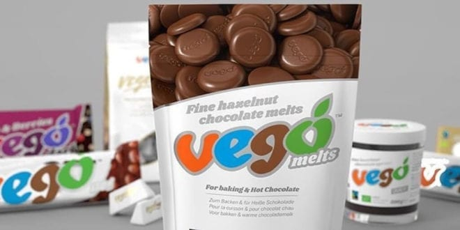 Vego chocolate melts just launched in UK stores