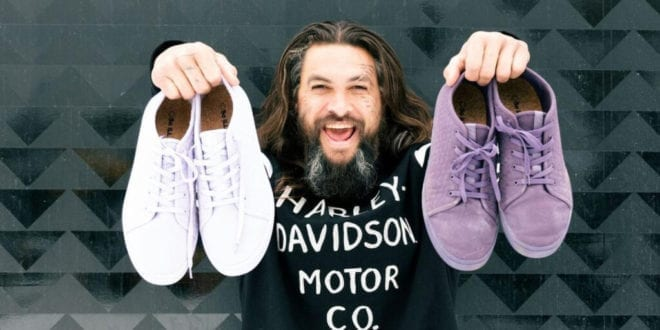 Jason Momo just launched a vegan sneaker range made from algae