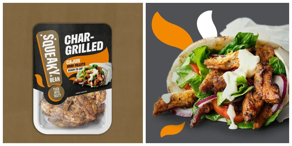 Squeaky Bean launches realistic vegan chicken in Asda stores across the UK