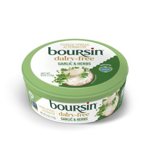Boursin just launched its first vegan cheese at major US retailers.