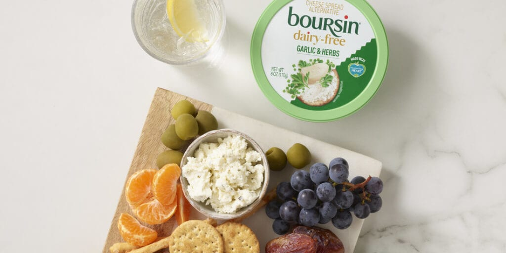Boursin just launched its first vegan cheese at major US retailers
