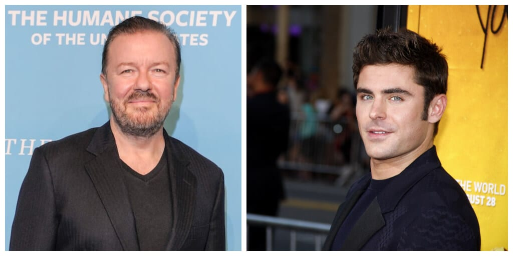 Ricky Gervais and Zac Efron to star in Save Ralph - a film to end animal testing