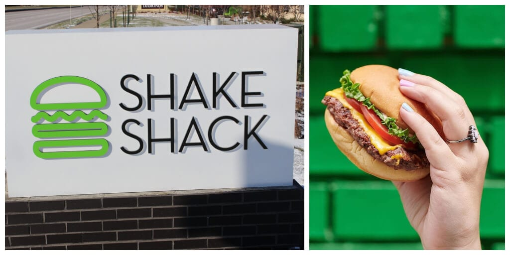 Shake Shack launches vegan cheese burger in UK outlets