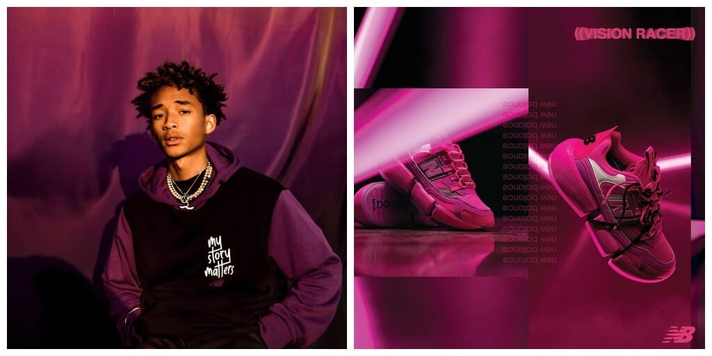 Jaden Smith to launch Next New Balance Vision Racer in pink