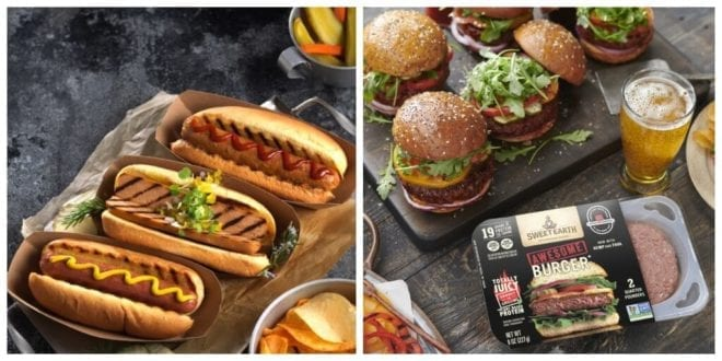 Nestlé launches vegan hot dogs and reformulated awesome burger as demand soars