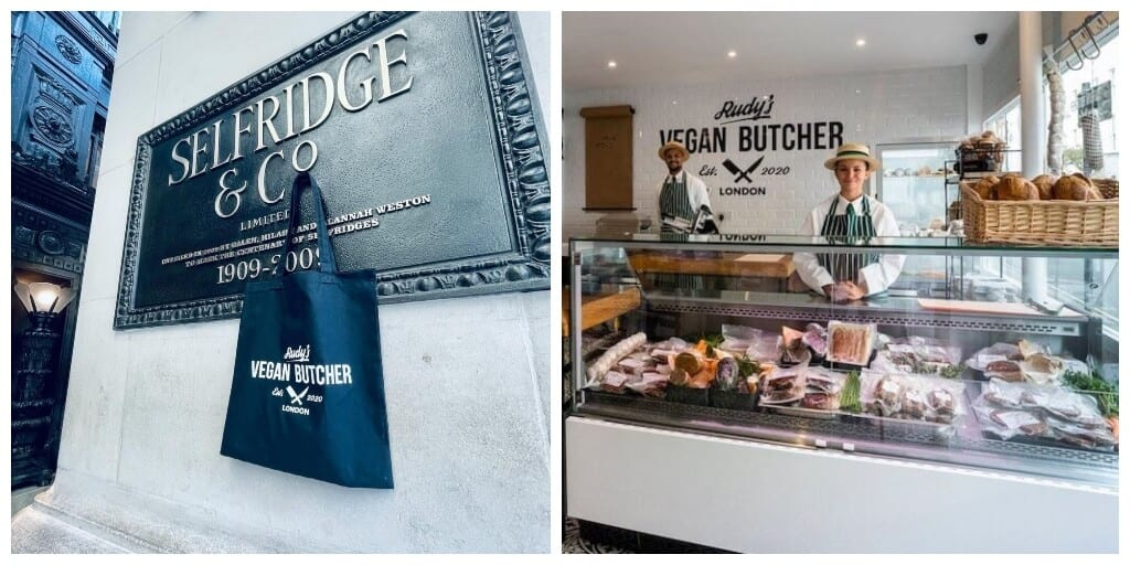 UK's first vegan butcher just opened 2nd location in London department store Selfridges