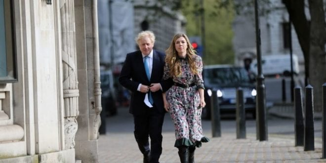 Boris Johnson and Carrie Symonds gifted a goose following 'surprised' wedding