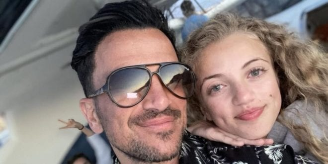 Peter Andre apologizes for being 'unaware' after daughter's dolphin video gets slammed by PETA