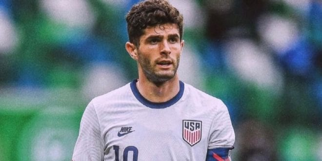 Footballer Christian Pulisic under fire over bizarre stunt with giant fish