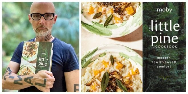 Moby to release vegan cookbook with all proceeds going to rescue animals
