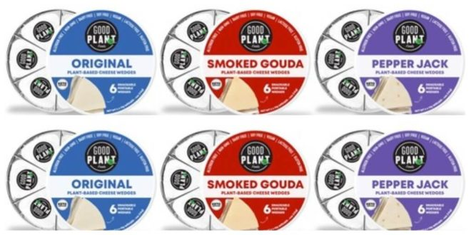 Cheese brand GOOD PLANeT launches first-to-market vegan cheese wedges