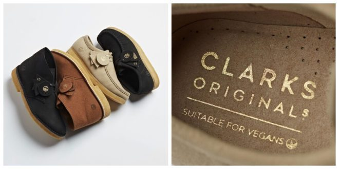 Clarks launches vegan versions of its iconic Wallabee and Desert Boot