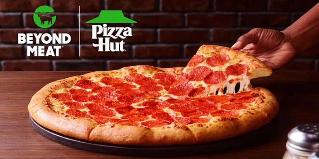 Pizza Hut just launched Beyond Meat Pepperoni at 70 US outlets