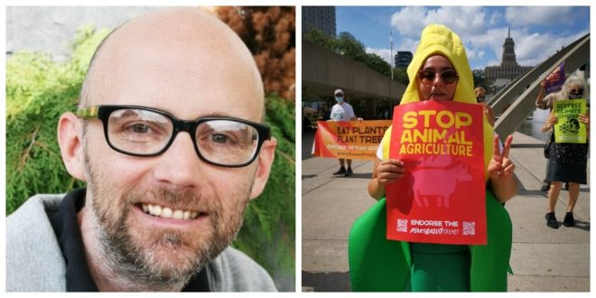 Moby endorses global campaign demanding overhaul of the world's food systems