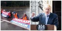 """Boris Johnson says protesting climate activists are """"irresponsible crusties"""""""